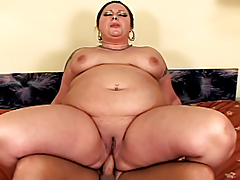 Shocking BBW Loves Having A Massive Cock In Her Asshole