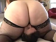Cute fat girl licked by horny guy