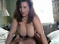 Mom with massive boobs going horny