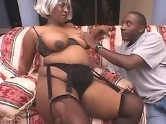 Chubby ebony spoil interracial guys